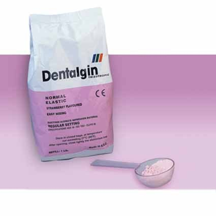 ALGINATO DENTALGIN 453 GR FRAGUADO NORMAL FRESA