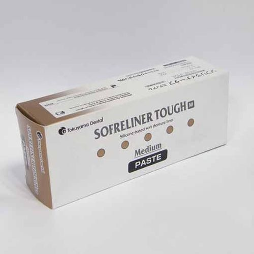 SOFRELINER TOUGH REBASE DENTAL TOKUYAMA 54GR