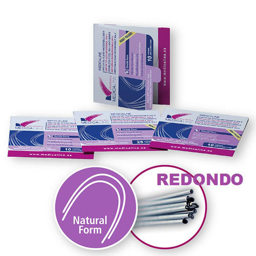 ARCO ML ACERO REDONDO SUPERIOR NATURAL FORM