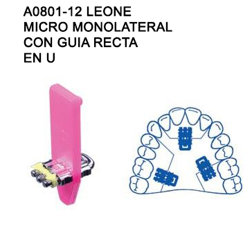TORNILLO A0801-12 LEONE, MICRO MONOLATERAL 12mm.