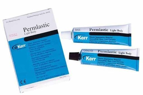PERMLASTIC LIGHT BODY 95ML + 130ML SILICONA DENTAL KERR