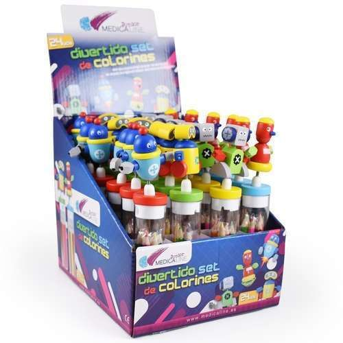 SET COLORINES MEDICALINE JUNIOR 24U FANTASIA DENTAL