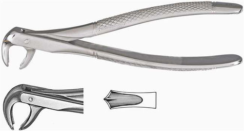 Forceps Adultos Nº 73 Molares inferiores DJL