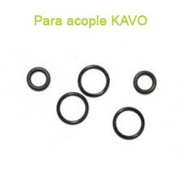 Kit 5 Anillos Toricos acople dental Kavo Multiflex