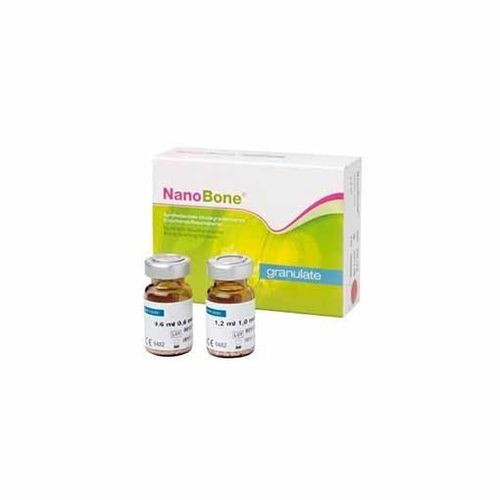 Nanobone Vial 2,4ml, Particulas 1 mm Cirugía Oral