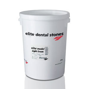 YESO DENTAL ELITE MODEL FAST BIDON 25KG LIGHT CREAM
