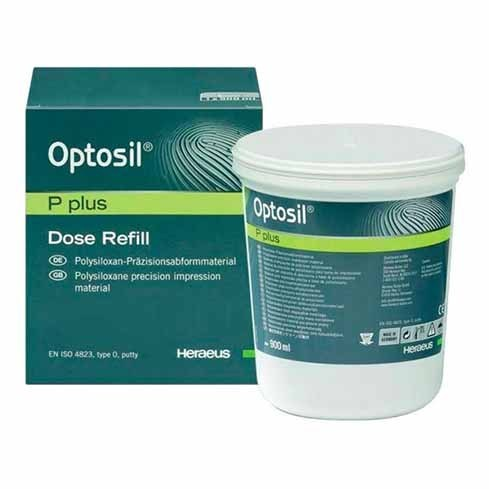 OPTOSIL PLUS 900ML SILICONA DENTAL HERAEUS