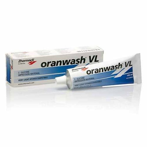 ORANWASH VL 140ML BLUEWASH SILICONA DENTAL ZHERMACK