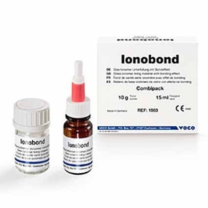 IONOBOND IONOMERO VIDRIO CEMENTO DENTAL 10GR +15ML