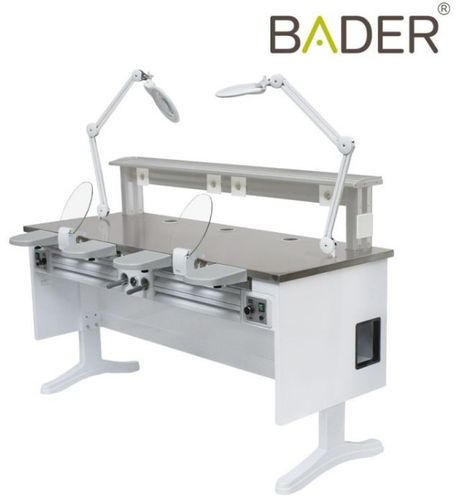 MAX WORK TWIN BADER PUESTO DOBLE LABORATORIO DENTAL