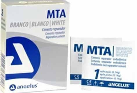 MTA Angelus Blanco cemento apicectomía dental 1gr