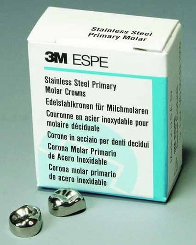 CORONA DENTAL METAL ACERO 3M MOLAR DECIDUO 5U