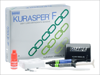 Kurasper F Kit 4 ml adhesivo Ortodoncia Kuraray.
