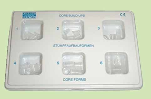 CORE BUILT UPS 10U PREFORMA Nº2 KURARAY DENTAL