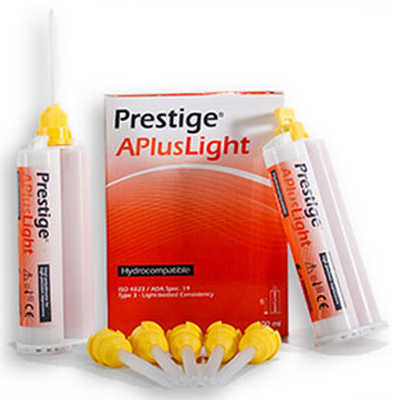 Prestige A Plus Light 2x50ml Vannini Silicona dental