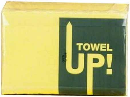 Servilletas Monoart Towel Up Amarillo 500U Euronda