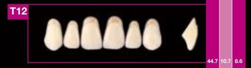 Dientes Cosmo HXL T12 (ant. sup. forma trapecial)