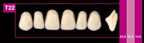 Dientes Cosmo HXL T22 (ant. sup. forma trapecial)