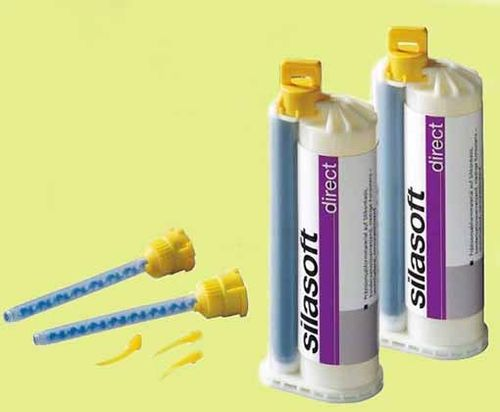SILASOFT DIRECT 8X50 ML DETAX SILICONA DENTAL