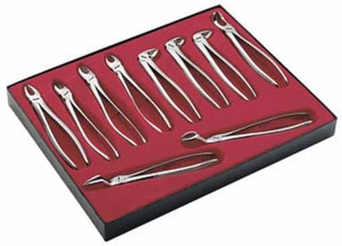 Kit 10 Forceps Carl Martin E100 Clinica Odontologia