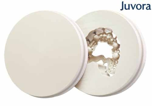 DISCO JUVORA DENTAL PEEK Oyster white, Ø98.5mm, H 25mm