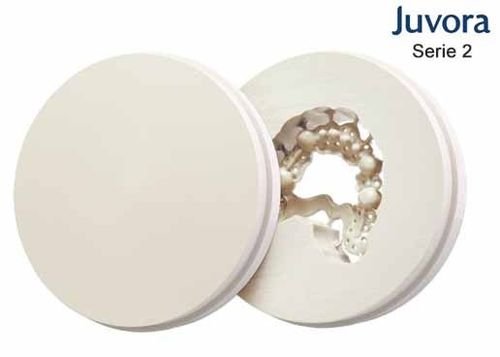 DISCO JUVORA DENTAL PEEK Oyster white, Ø98.5mm, H 30mm