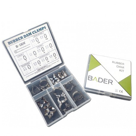 KIT DE CLAMPS BADER CLINICA DENTAL