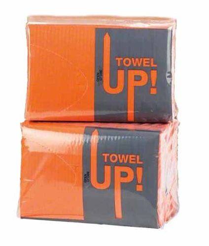 Servilletas Monoart Towel Up naranja 500U Euronda